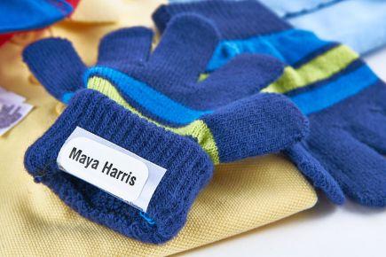 Clothes Labels - Stikins Glove Labels - left