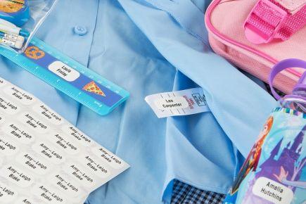 Stikins Multipurpose School Name Labels