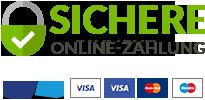 100 % sichere Online-Zahlung